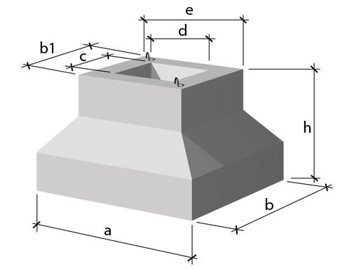 Фундамент стаканного типа «ФЖ»